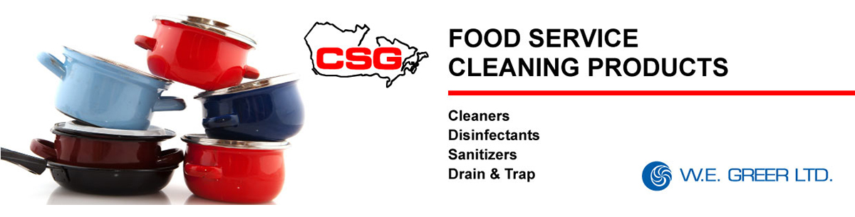 CSG food service products